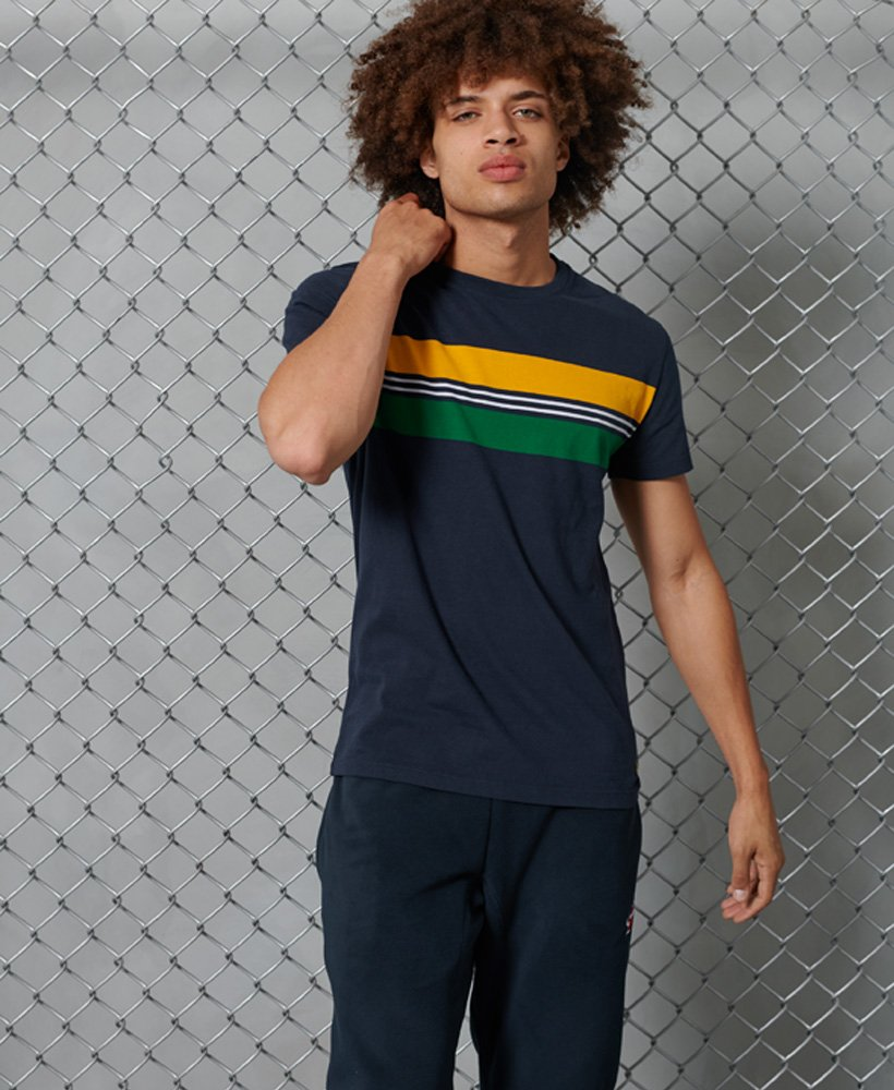 SuperDry | R&P Chestband Tee - Nautical Navy