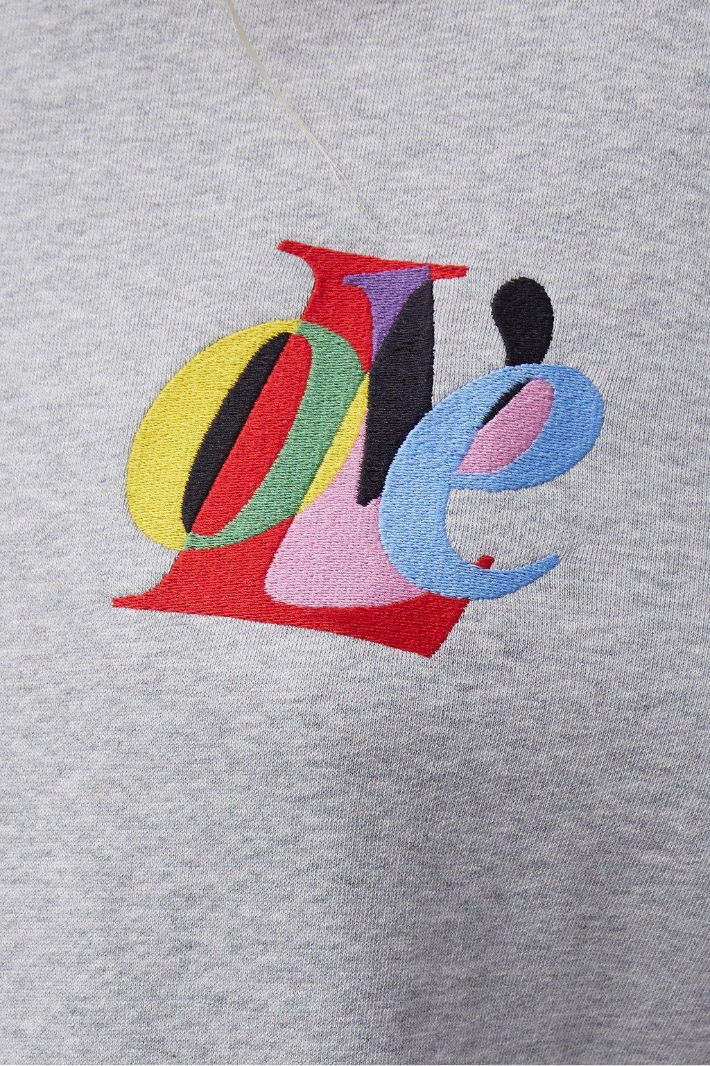 French Connection | LOVE Graphic Crewneck Sweatshirt