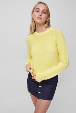 FRENCH CONNECTION |LILLY MOZART JUMPER - Bright Daffodil