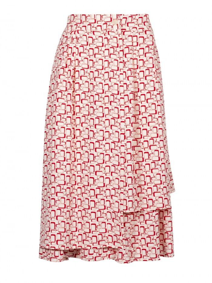 ANONYME-Asymmetric Skirt Trellis