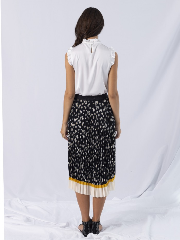 ANONYME- Monica Pleated Skirt