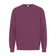 Bugatti| Knitted Round Neck Sweater- Purple