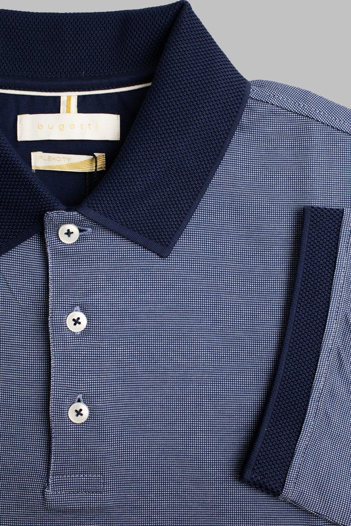 Bugatti | Flexcity Microprint Polo Shirt - Navy