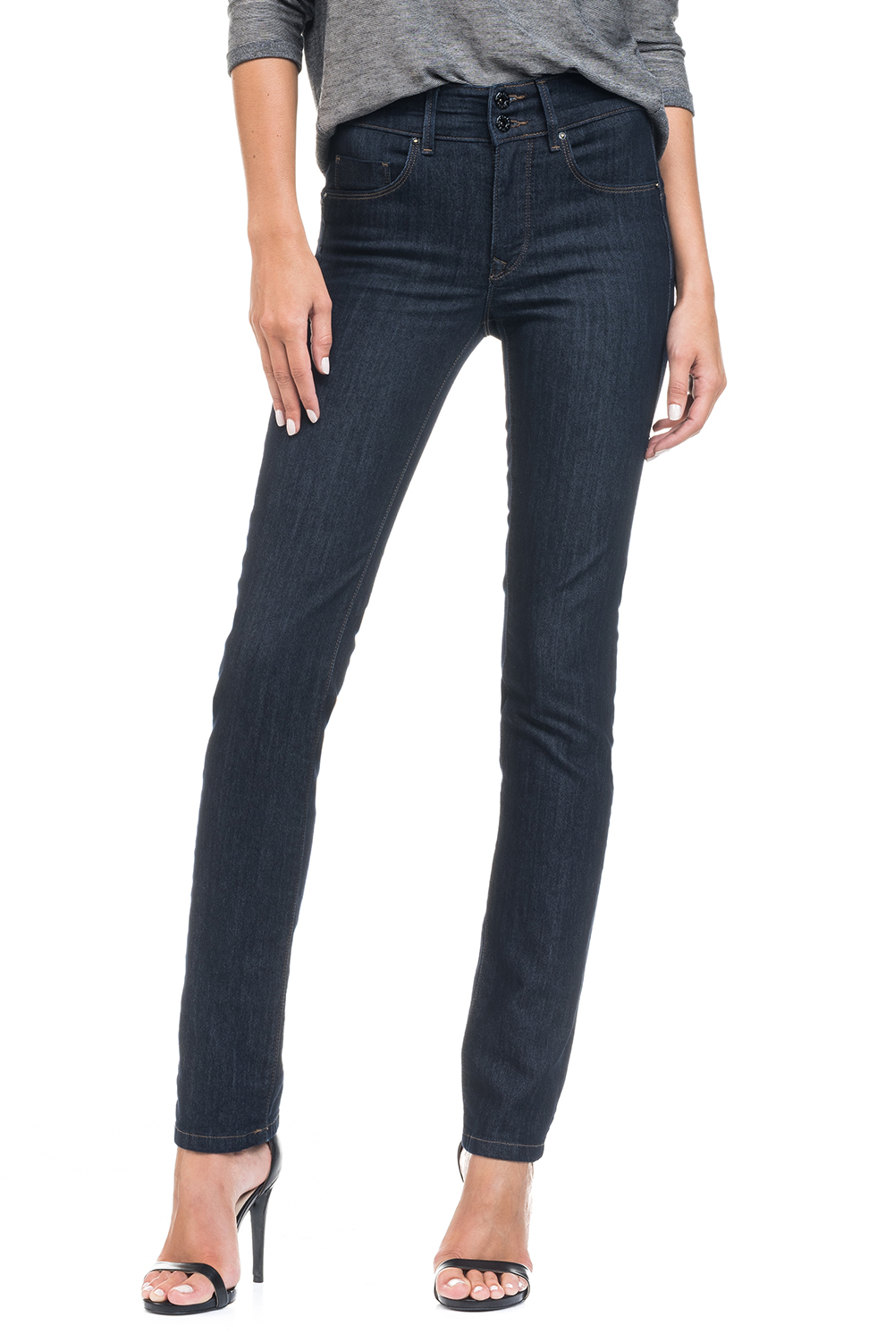 SALSA| Push In Secret Slim Jeans | Dark Rinse