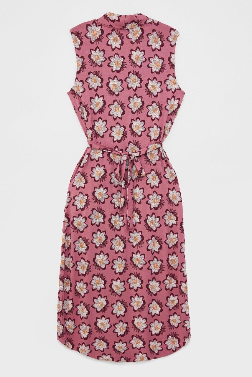 White Stuff | Isla EcoVero Pink Dress