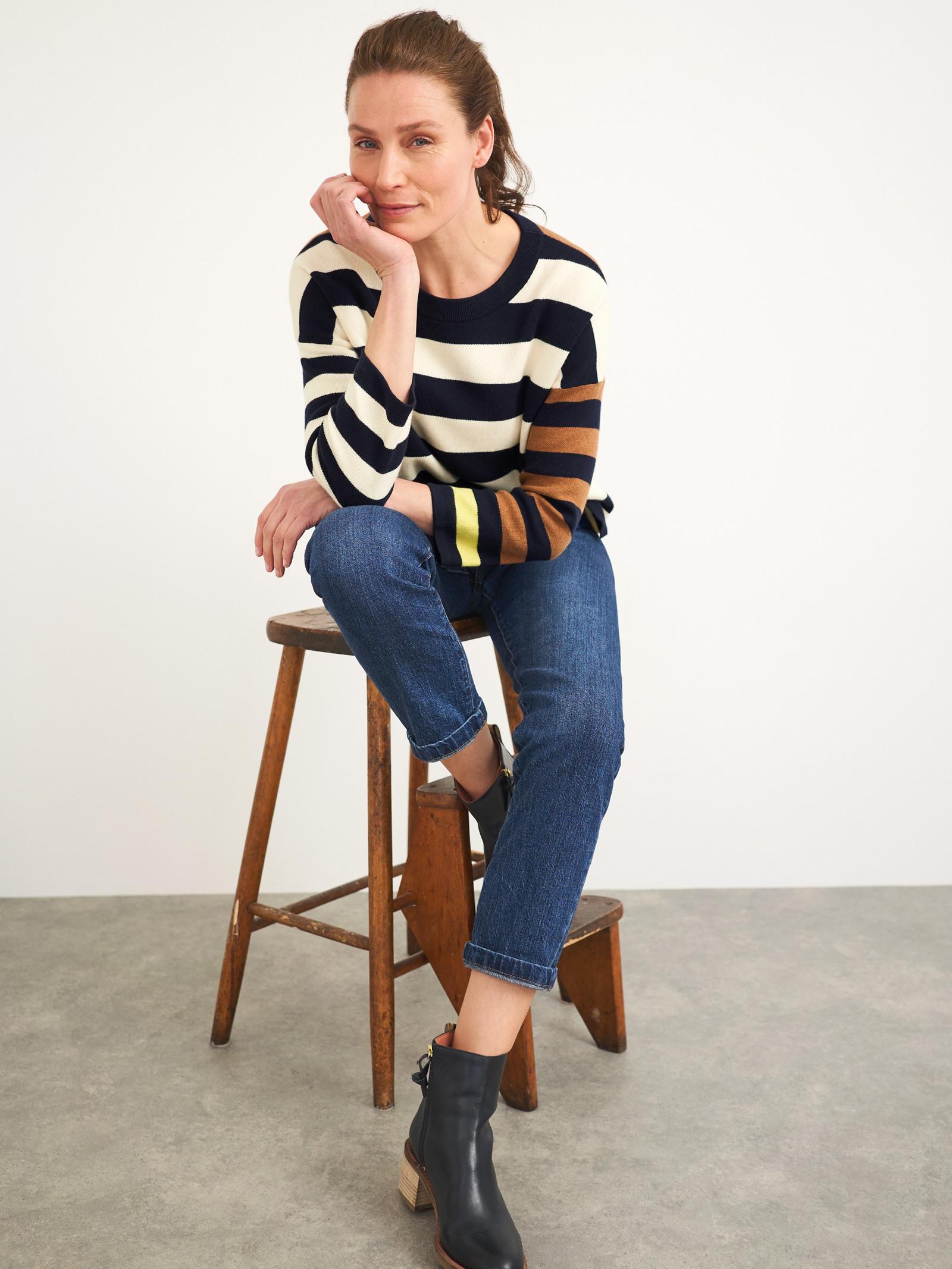 Isabel Stripe Jumper