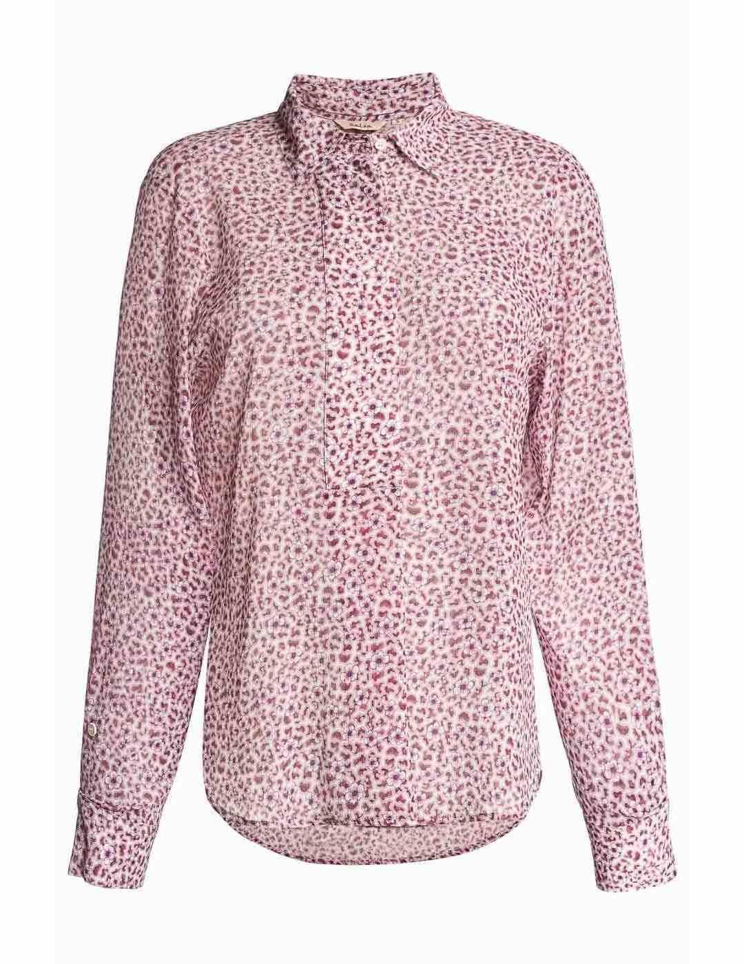SALSA | Peony Lilac Floral Shirt