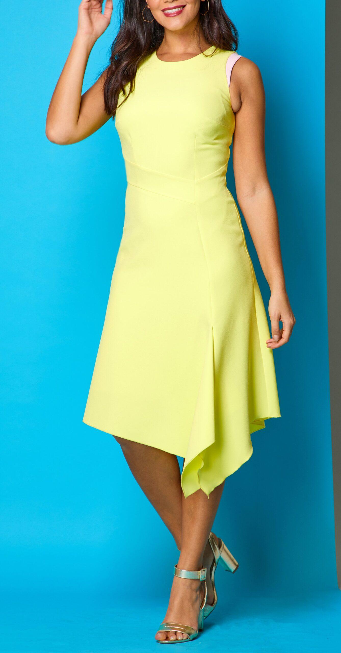 Mellaris | Adelle Dress - Yellow