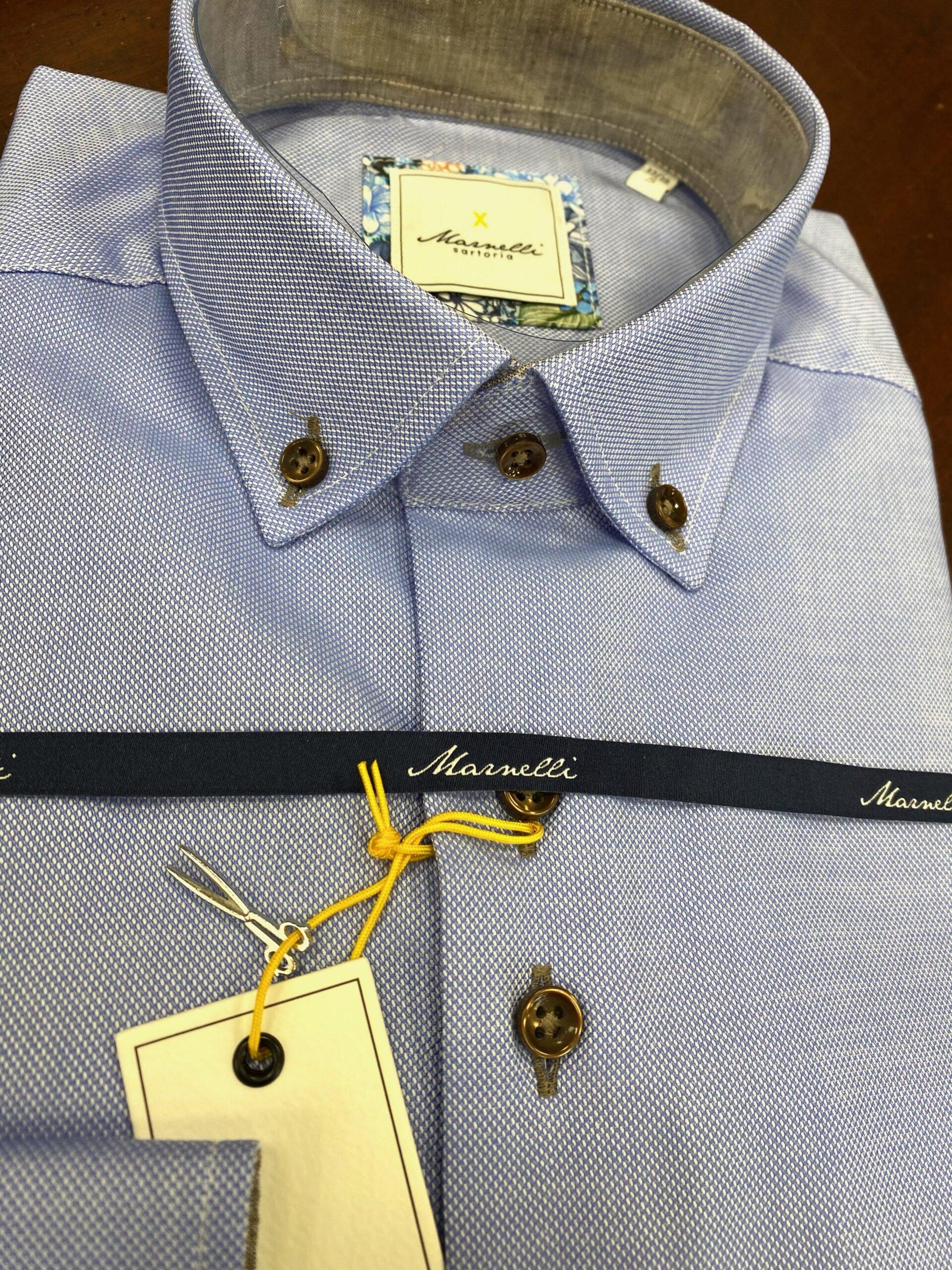 Marnelli | Contemporary Blue Shirt