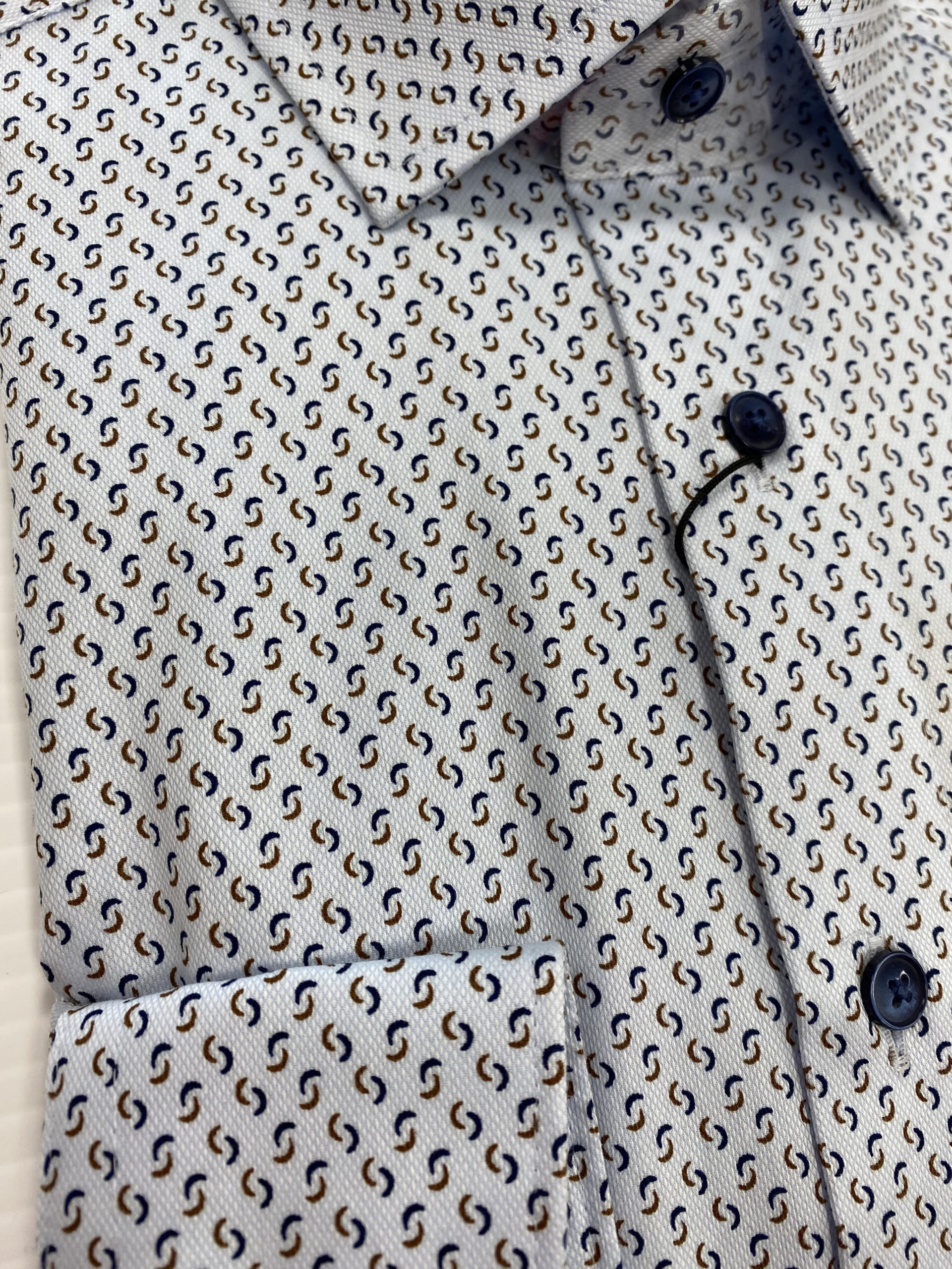 Olymp   Modern Fit Shirt With Pattern