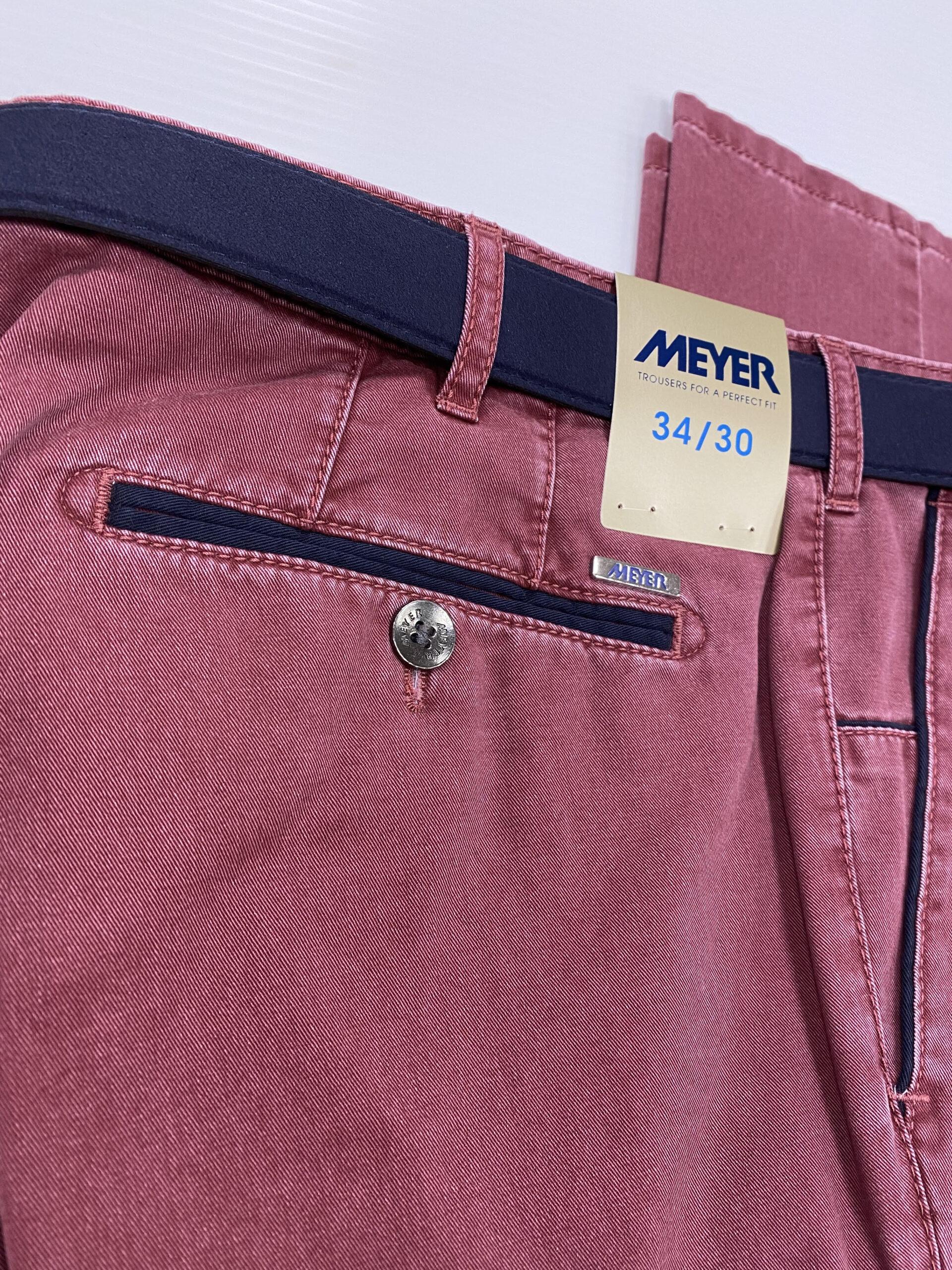 MEYER | New York Crimson Chino