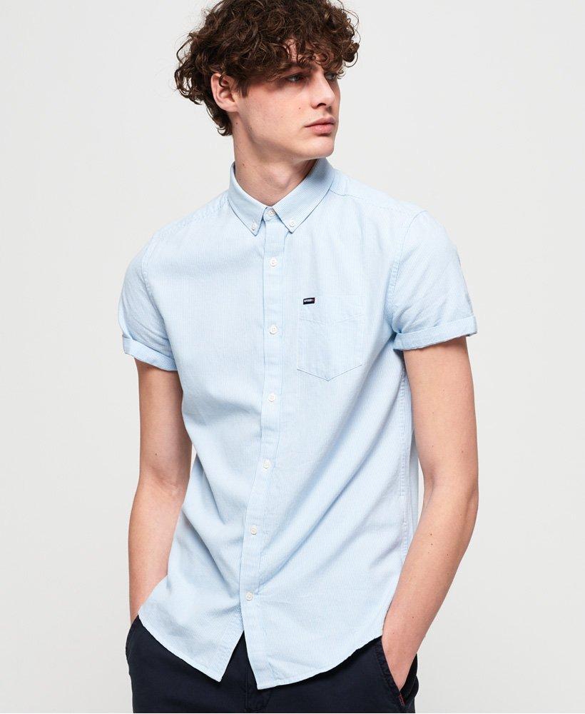 Superdry | Premium University Oxford Shirt in Blue