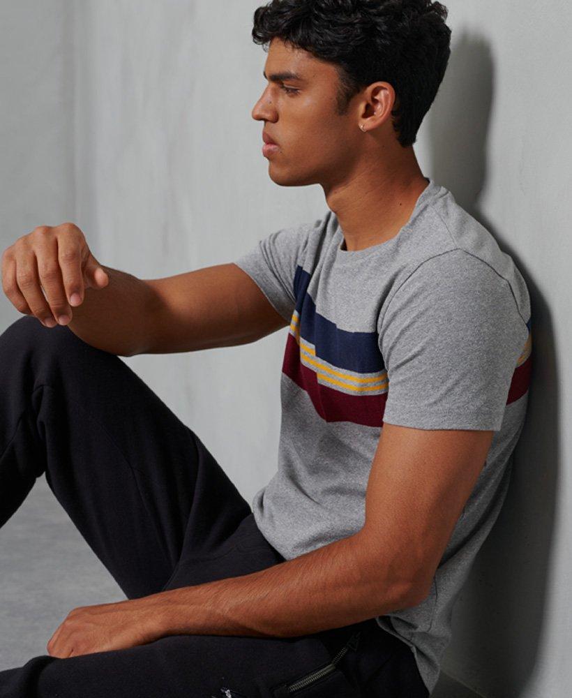 Superdry | Organic Cotton R&P Chestband T-Shirt -Grey