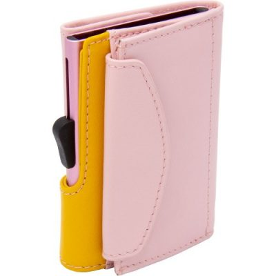 C- Secure | Blush/Saffron Wallet