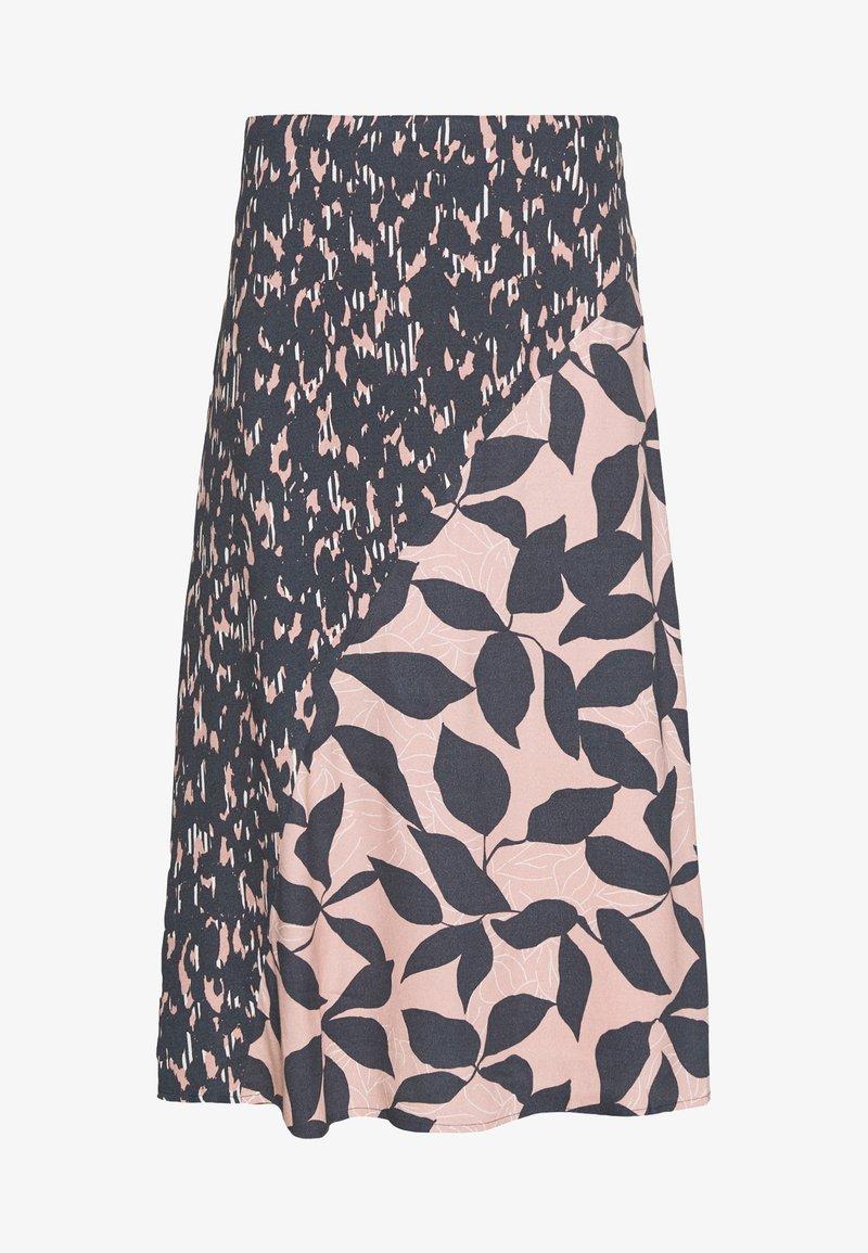 White Stuff   Hidden Tiger Skirt - Grey & Pink