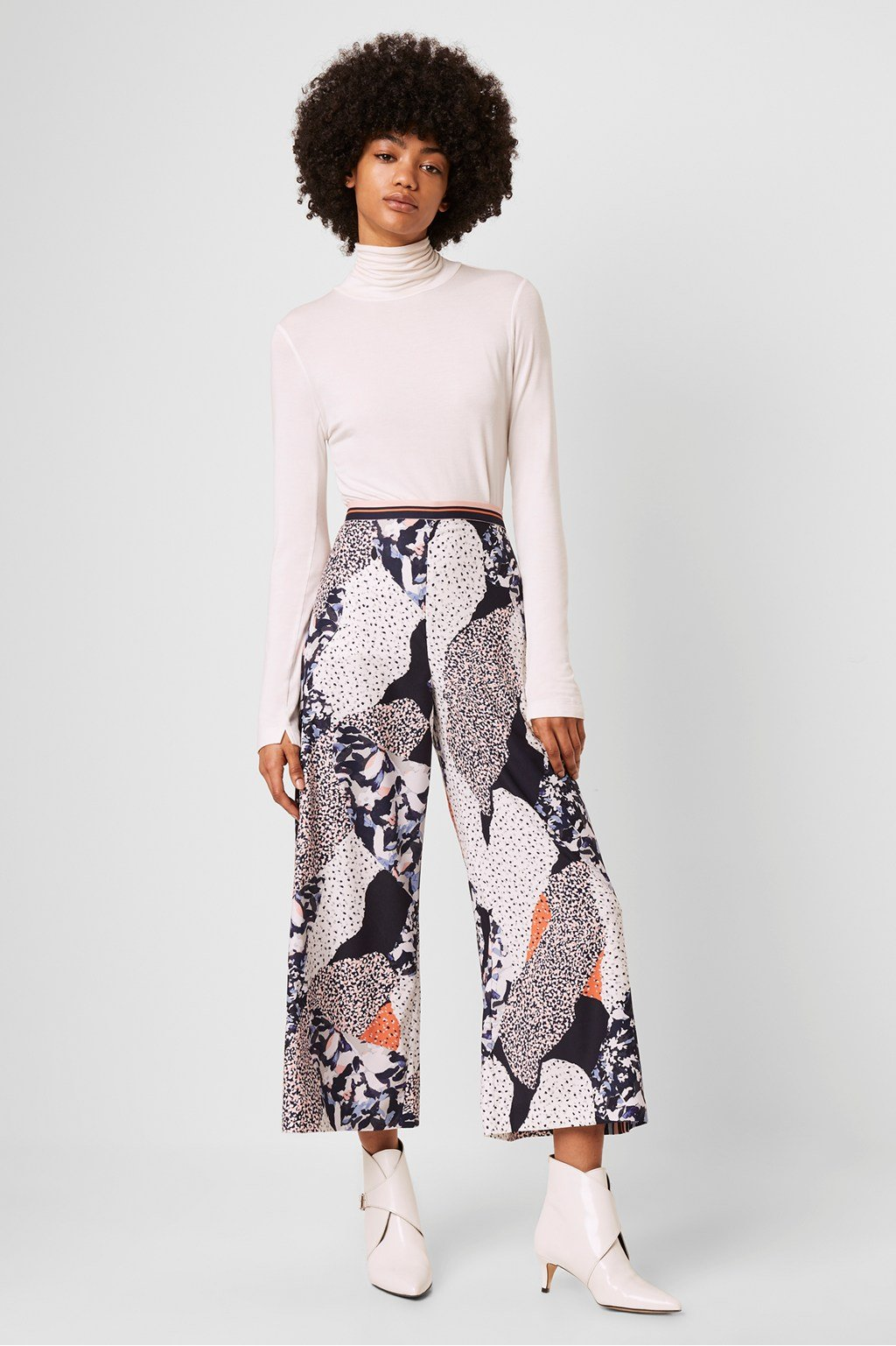 French Connection | Asha Print Culottes