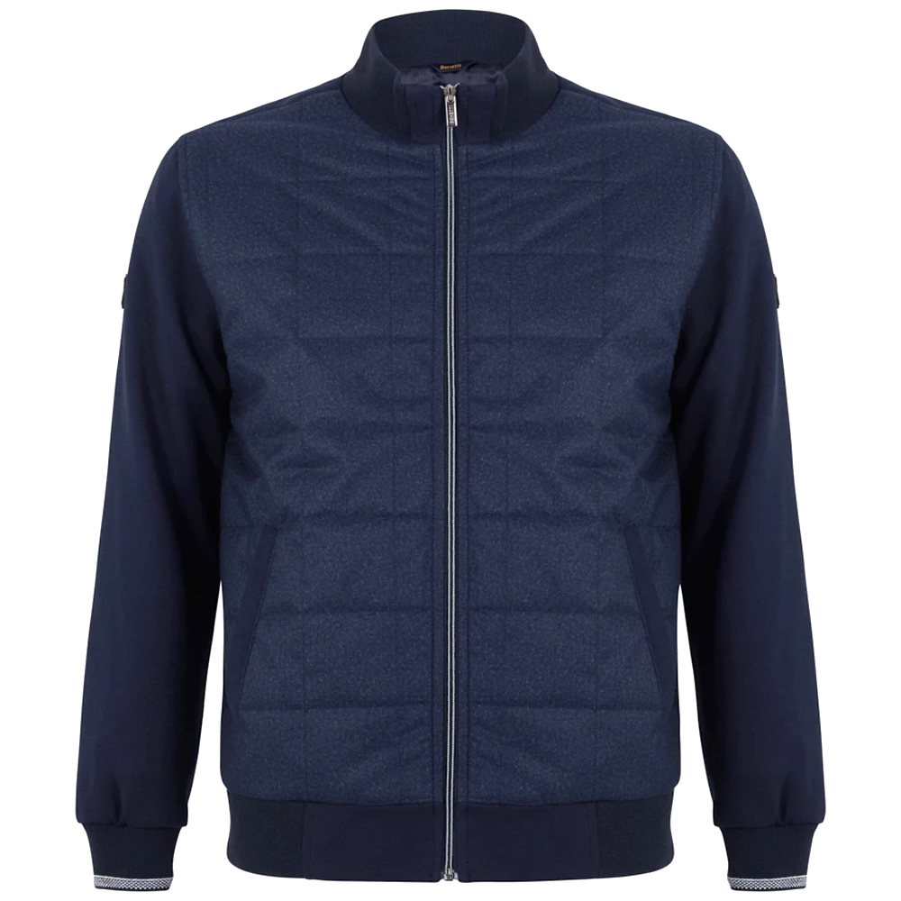 Benetti | Blue Royal Jack Padded Jacket