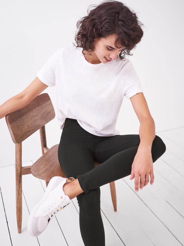White Stuff | Maddie Organic Leggings {Pure Black}