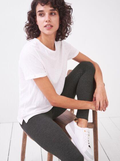 White Stuff | Maddie Organic Leggings {Grey Marl}