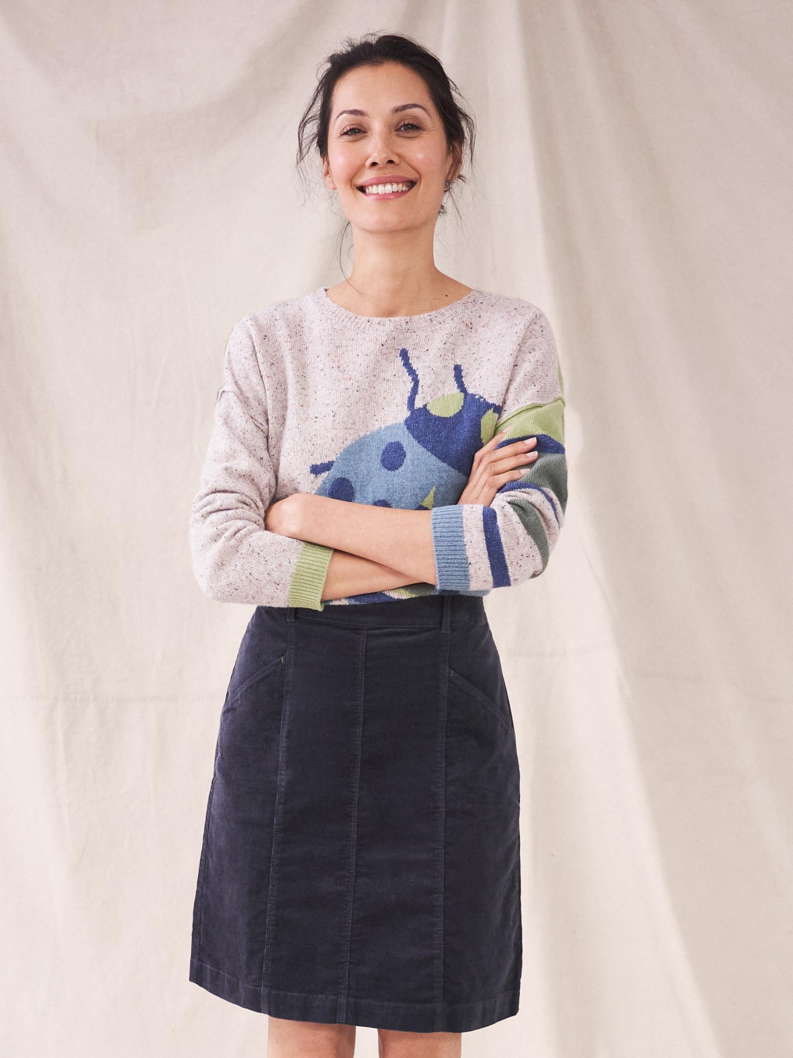 Josie Organic Cord Skirt