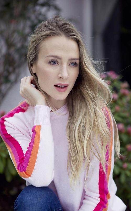 Luella | Cassie Cotton Jumper Multi - Colour Stripes Down Arm