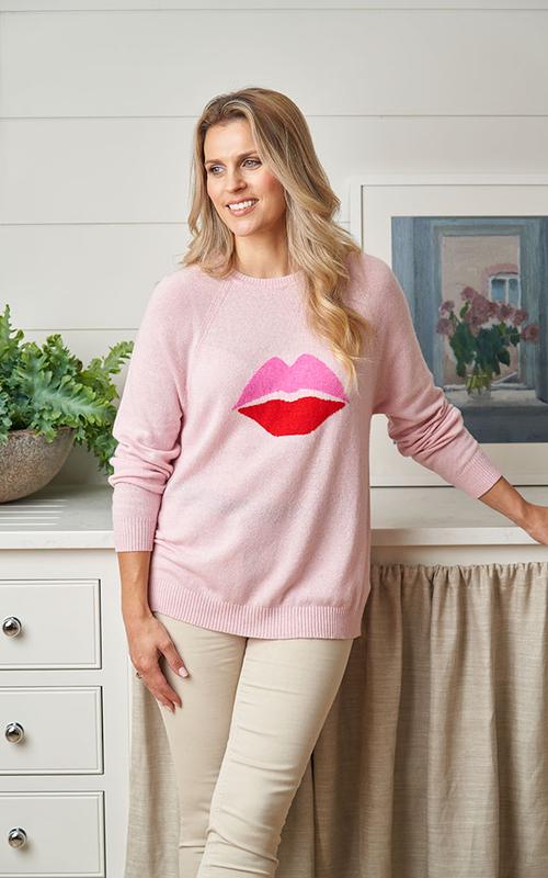 Luella | Cashmere Kiss Jumper {Baby Pink}