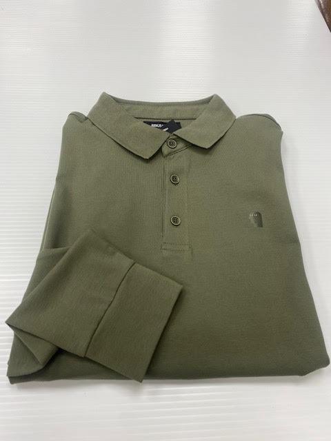 Remus Uomo | Long Sleeve Polo Shirt