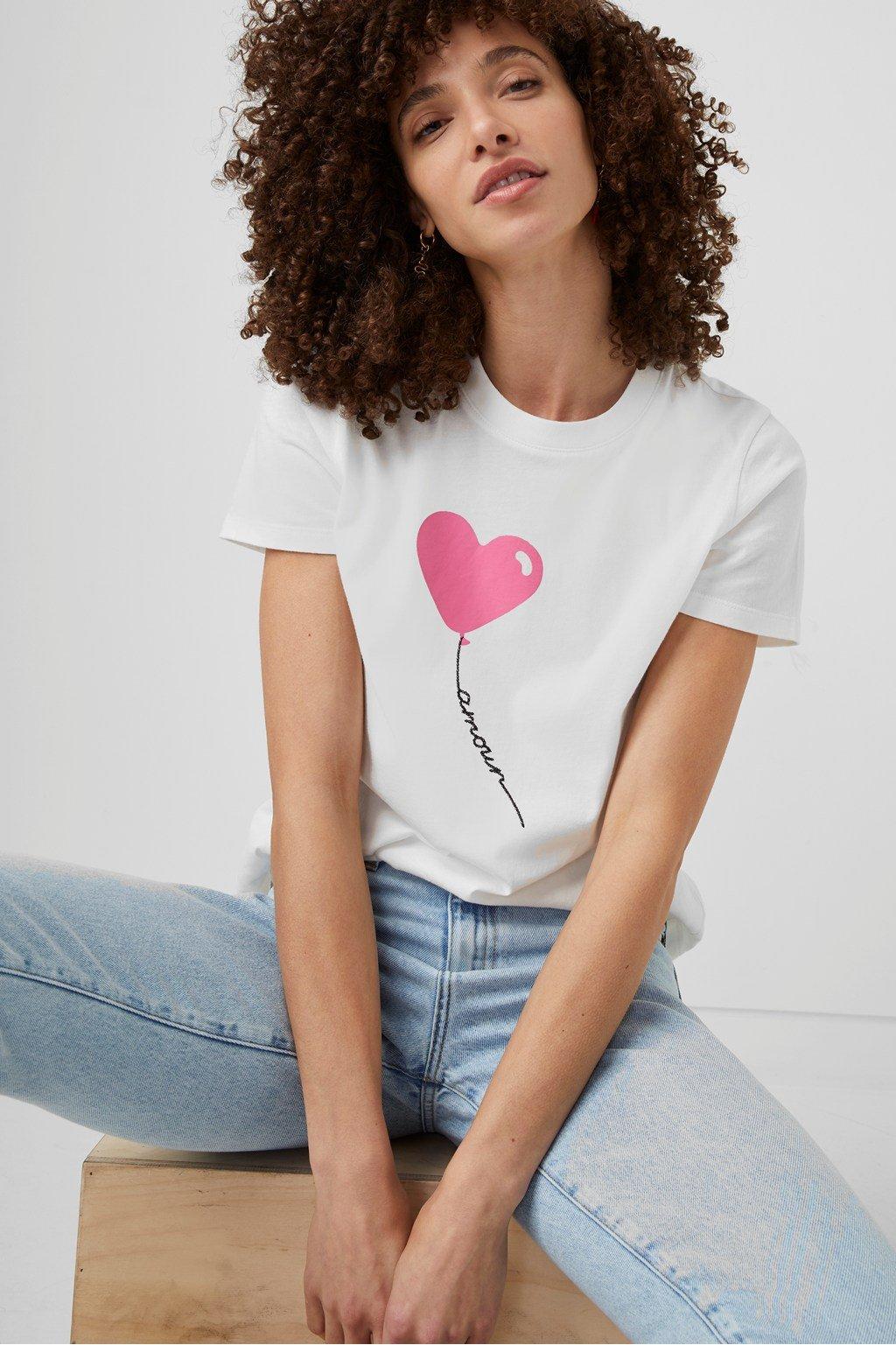 Amour Organic Graphic T-Shirt
