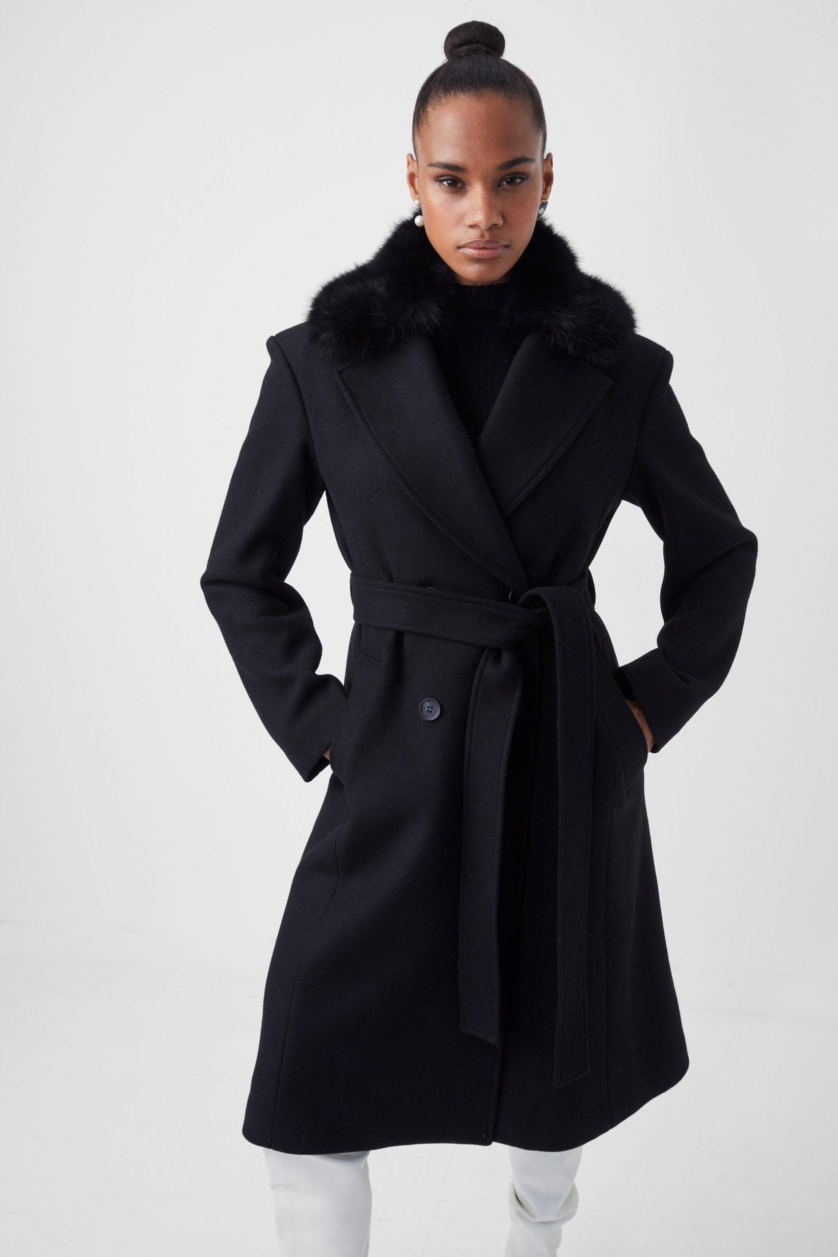 Favan Felt Tie Waist Coat